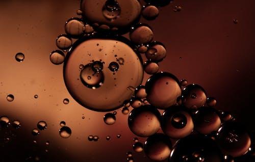 Immagine gratuita di colpo di macro, gocce d'olio, macro, primo piano