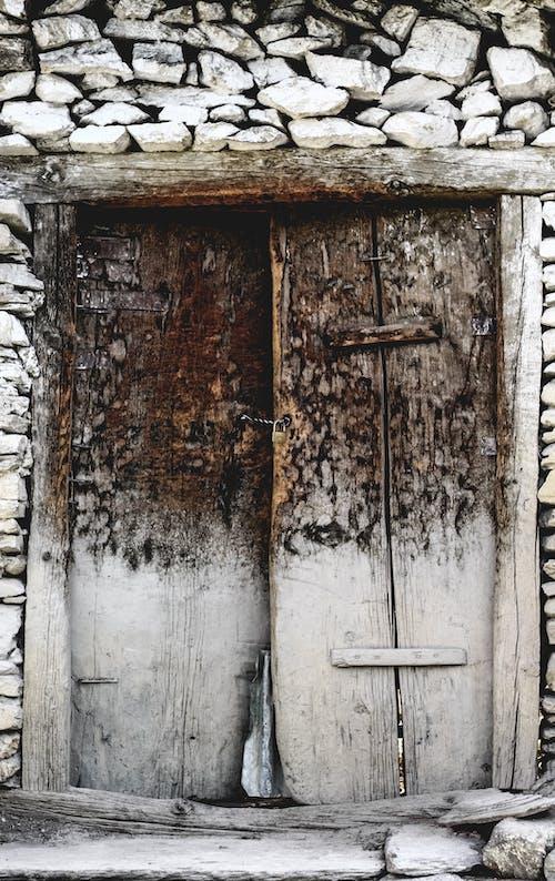 Free stock photo of abstract, door, homemade, lock