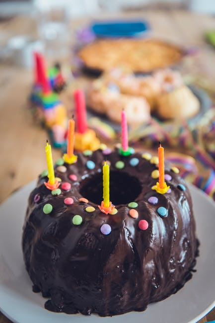 Free Stock Photo Of Baked Birthday Birthday Cake