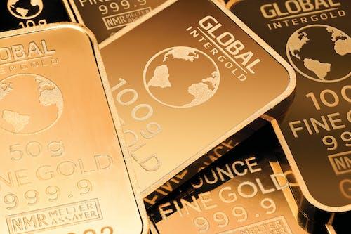 Základová fotografie zdarma na téma globální intergold, peníze, zlatá prodejna, zlaté cihly