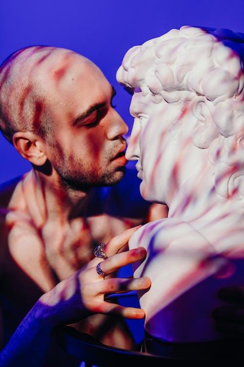 Ingyenes stockfotó arckifejezés, bálvány, becsukott szemek, csókolózás témában