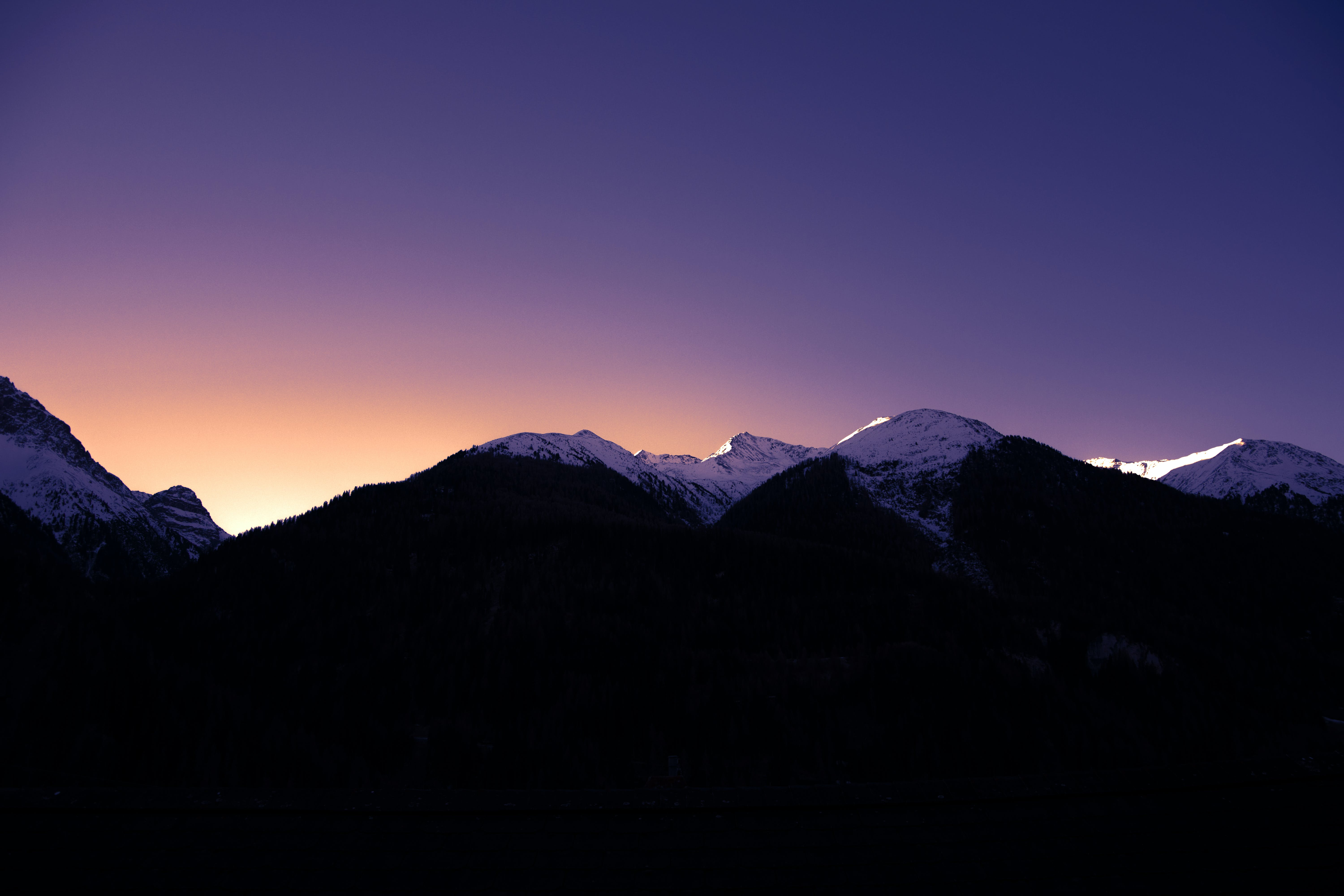 Free stock photo of dusk, light and shadow, morning, mountains
