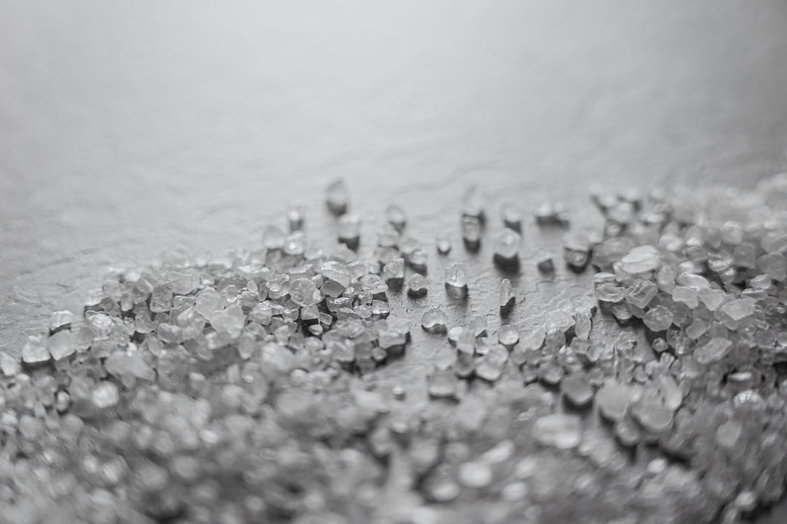 Photo of Salt on White Surface
