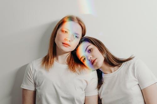 Women Wearing White Shirt