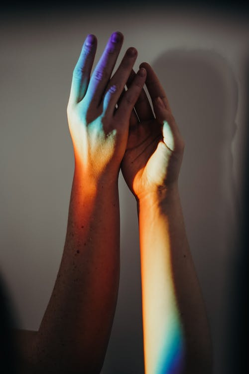 Photo of Persons Hands Doing High Five