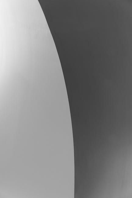 Black and white abstract photo