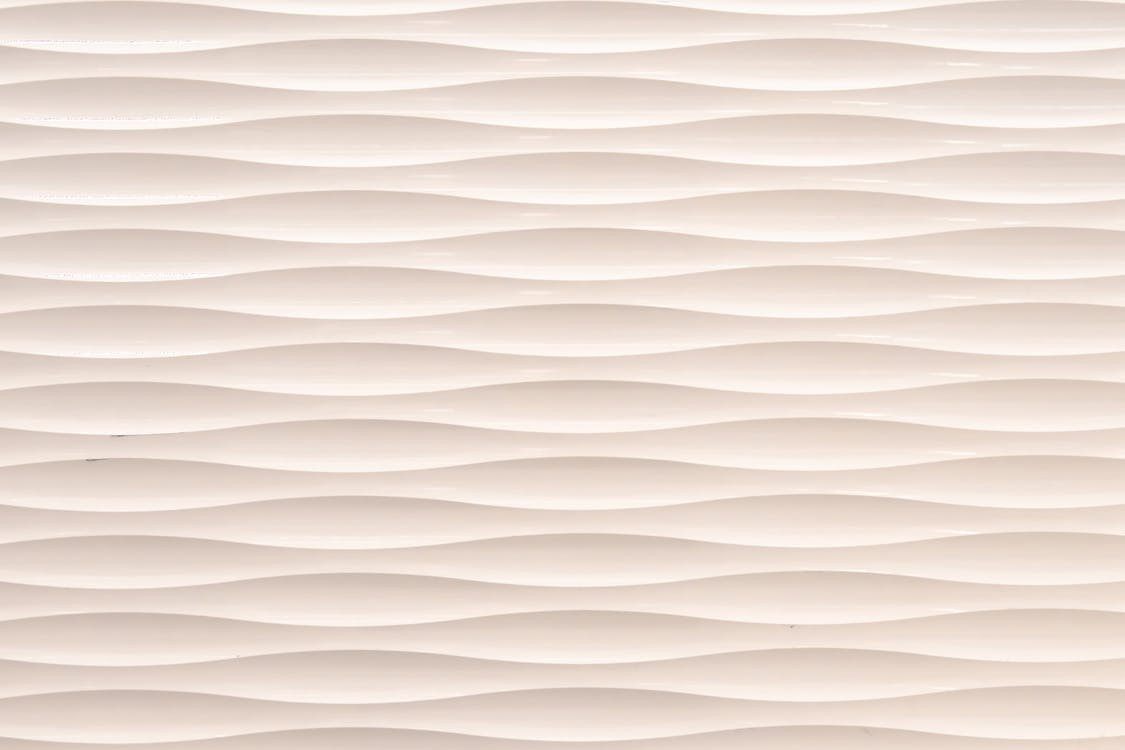 White and Brown Striped Textile