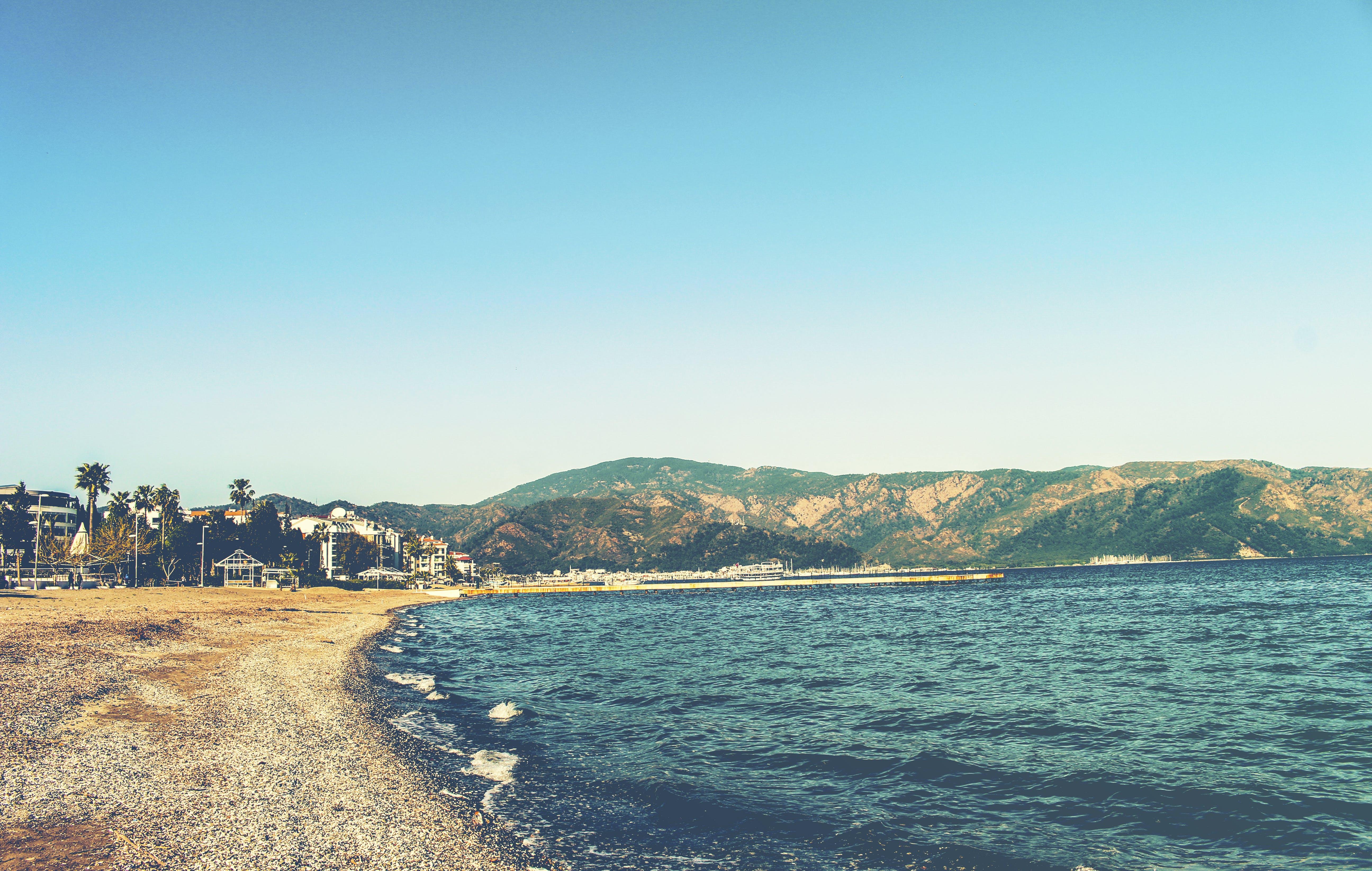 Seashore and Sea