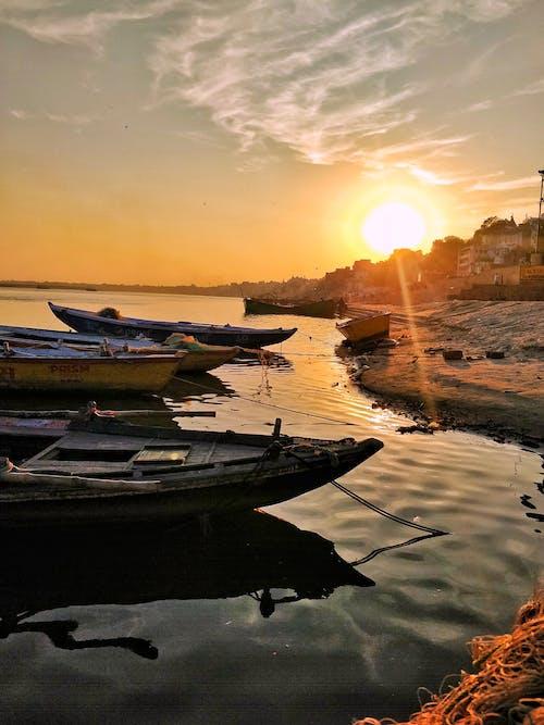 インド, カシ, スピリチュアル, バラナシの無料の写真素材
