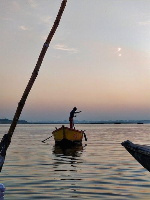 インド, インドの人々, バラナシ, 漁師の無料の写真素材
