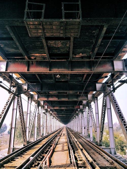インディアブリッジ, インド, ブリッジ, 先行行の無料の写真素材