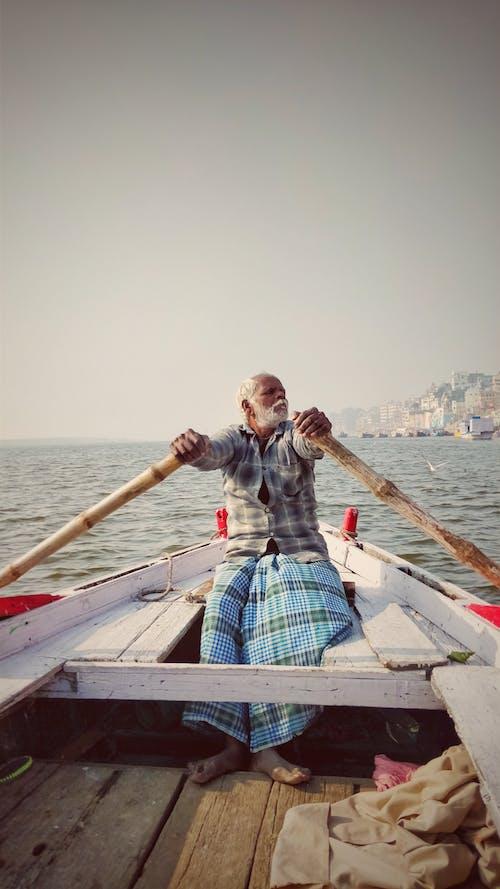 インド, インド人, バラナシ, ハンドボートの無料の写真素材