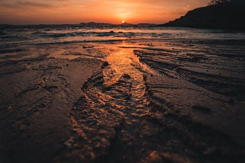 Δωρεάν στοκ φωτογραφιών με sunsrise, άμμος, αυγή, γαλήνιος