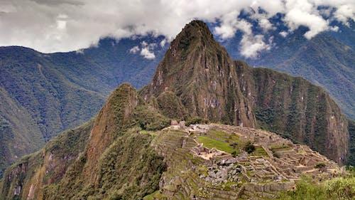 Machu Picchu under Cloudy Skies