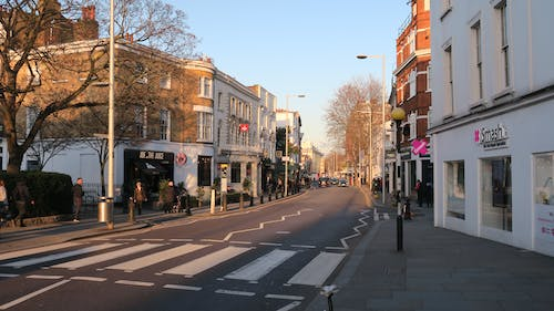 Free stock photo of Chelsea, city, crossing, kings road