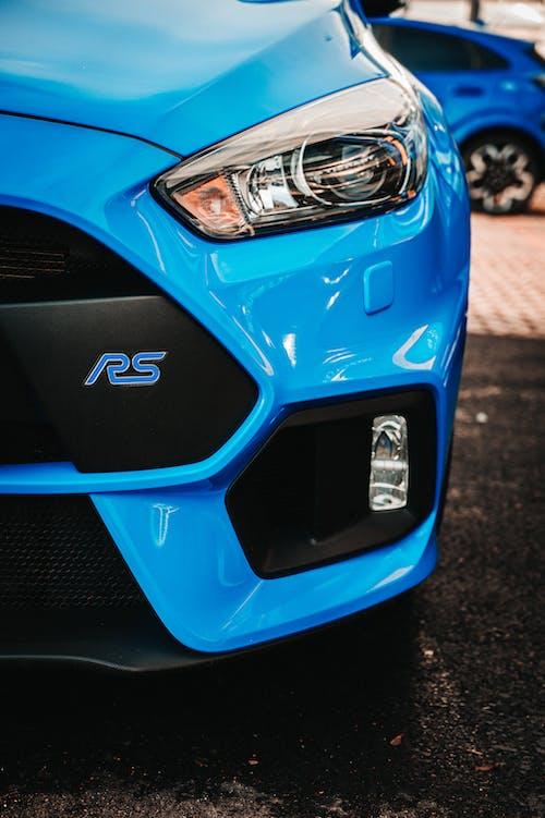 Immagine gratuita di auto sportiva, azzurro, bestia, concentrarsi
