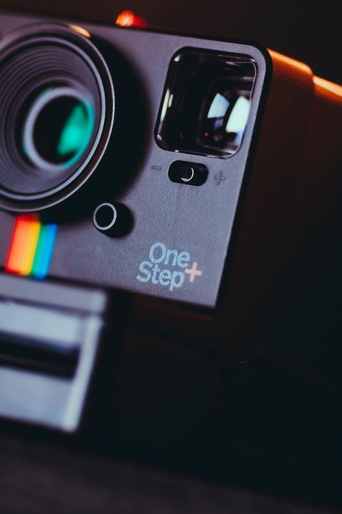 Close-Up Photo Of Black Camera