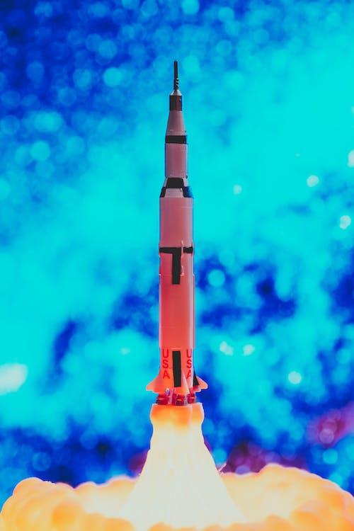 Rocket During Take Off
