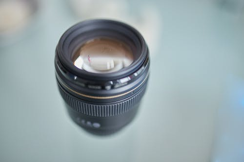 Black Camera Lens in Focus Photography