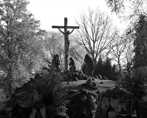 Základová fotografie zdarma na téma ježíš na kříži