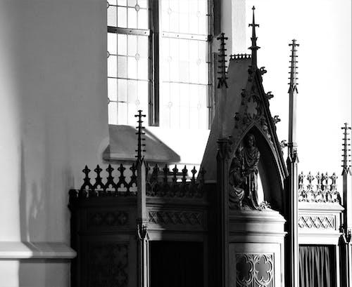 Základová fotografie zdarma na téma zpovědnice v kostele