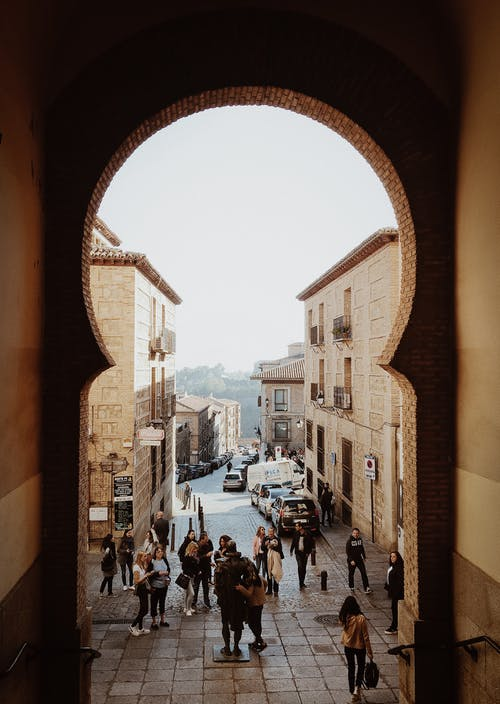 Foto stok gratis Kastil, kota, manusia