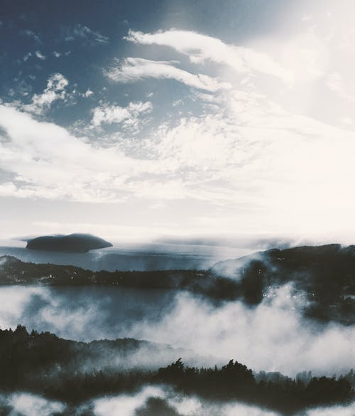 Foto stok gratis Argentina, awan, awan hujan, gunung