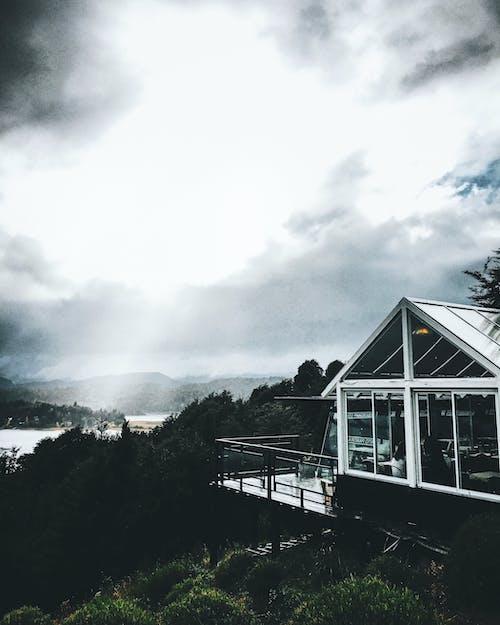 Foto stok gratis Argentina, gunung, langit kota, langit yang indah