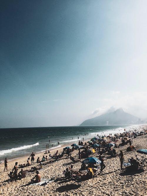 Foto stok gratis awan, awan hujan, biru, brasil