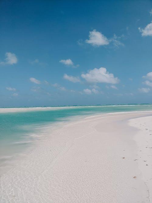 Gratis lagerfoto af hav, havudsigt, hvidt sand, lækker