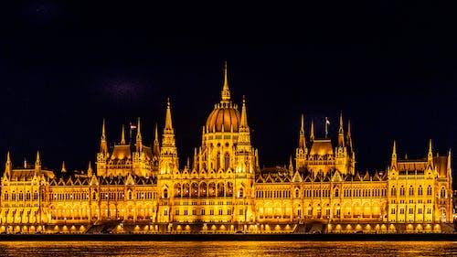 Ilmainen kuvapankkikuva tunnisteilla arkkitehtuuri, Budapest, budapeszt, kaupungin valot