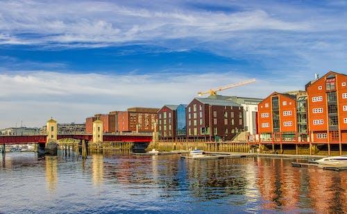 Ilmainen kuvapankkikuva tunnisteilla arkkitehtoninen rakennus, kaunis, kaupunki, Norja