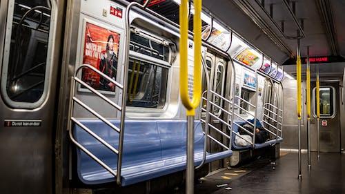 Free stock photo of homeless, subway, train