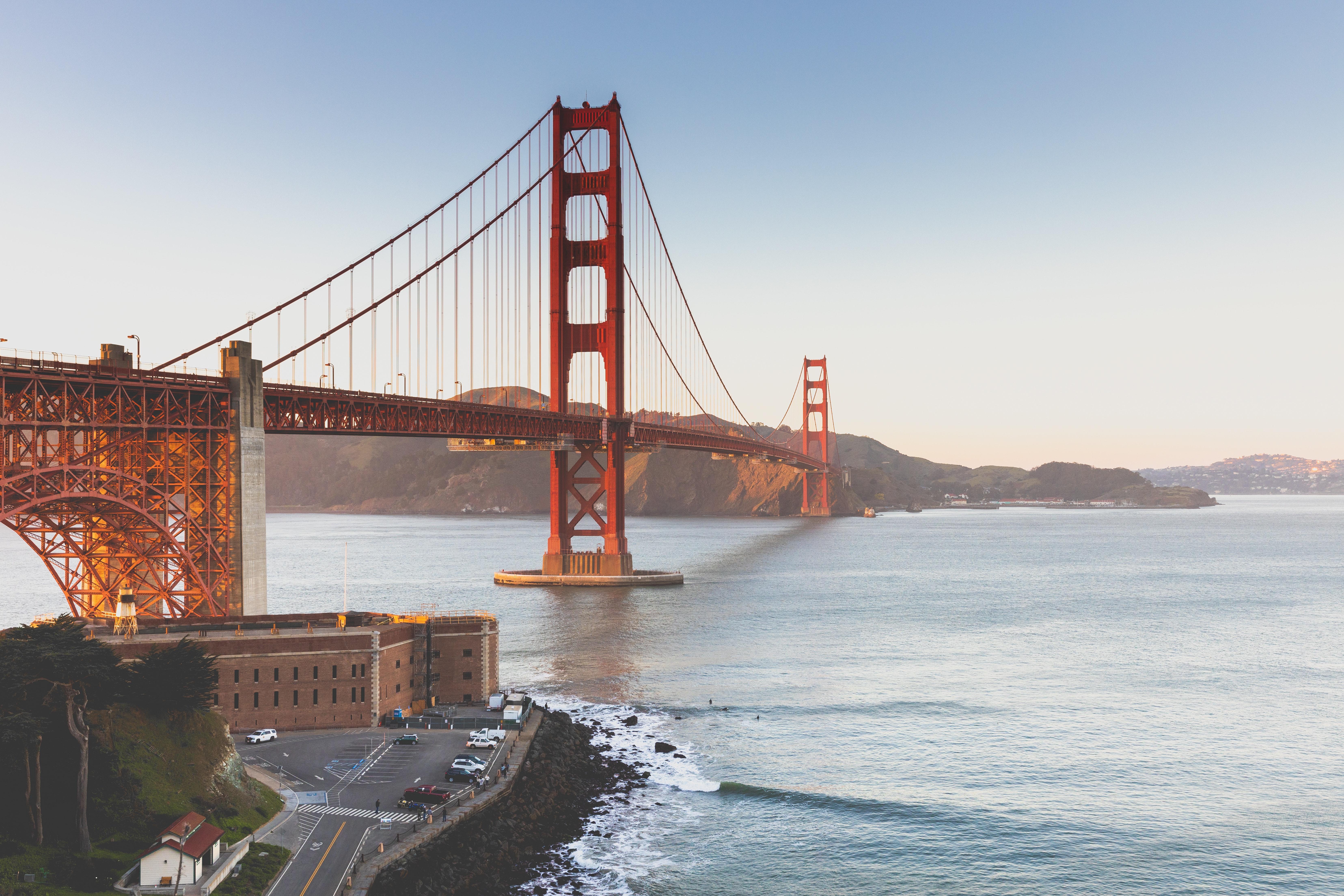 Golden Gate Bridge San Francisco California Free Stock Photo