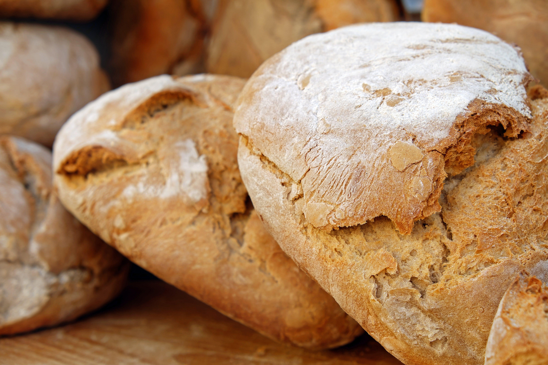 Free stock photo of bread, food, flour, market