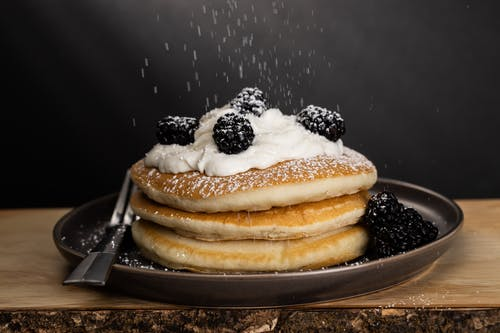 Close-Up Photo of Pancakes