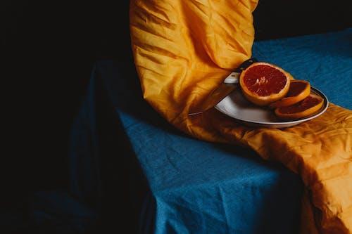 Kostnadsfri bild av apelsin, blå, citrus-, färsk