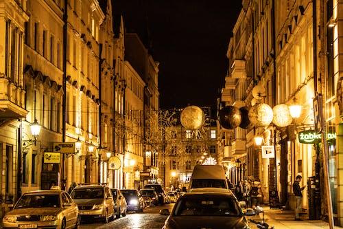 Free stock photo of city, city night, night, night city