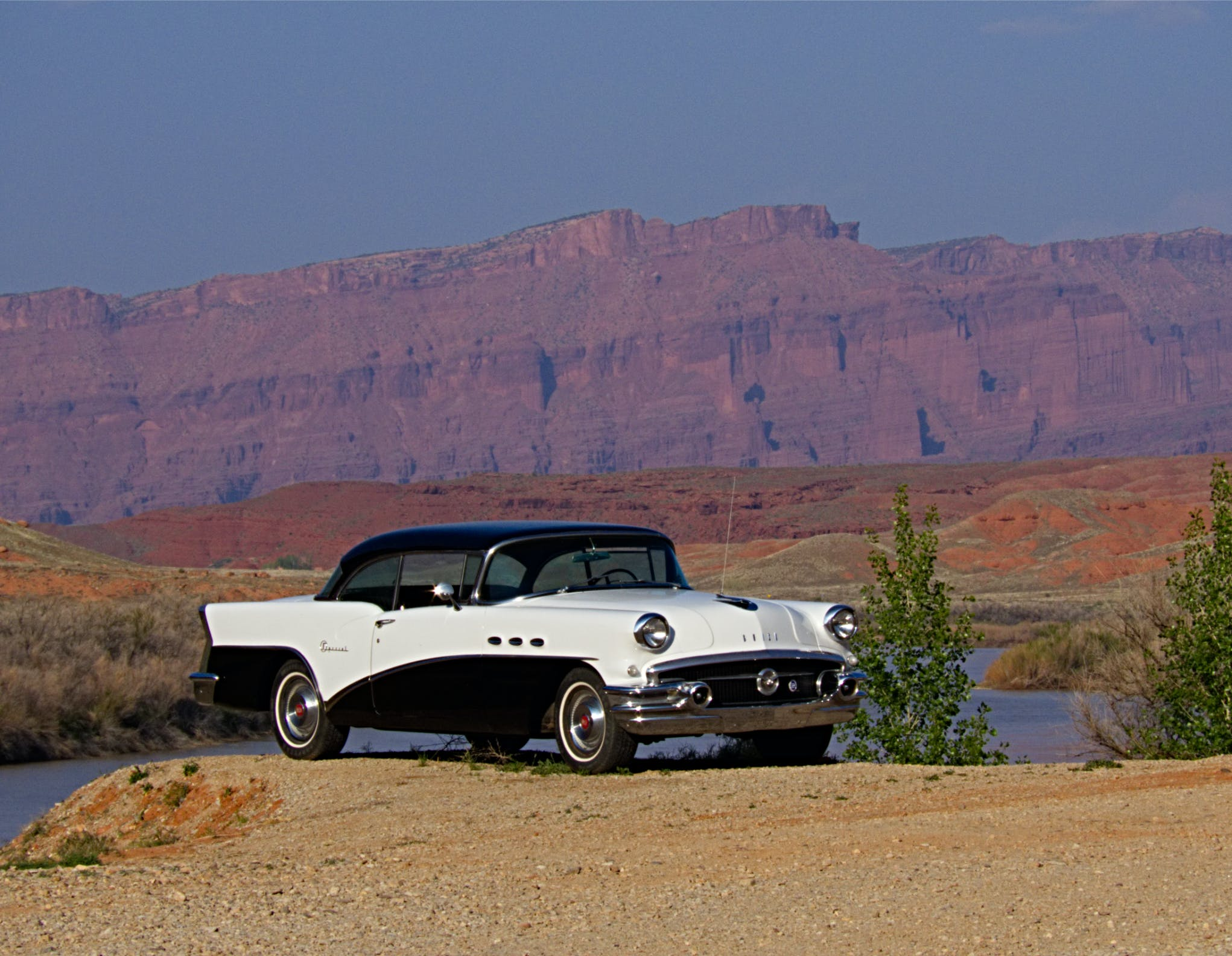 Free stock photo of american car, car, classic car, colorado river