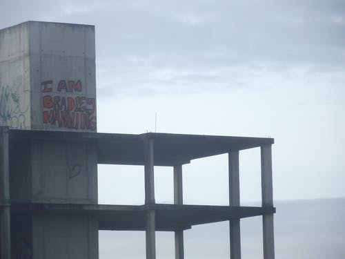 Free stock photo of abandoned building, graffiti, hello bradley manning