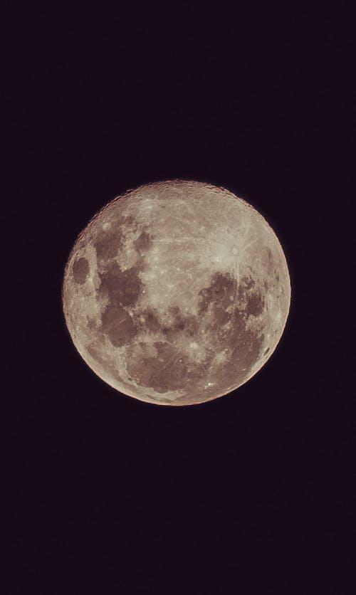 ay, Ay ışığı, ay yüzeyi içeren Ücretsiz stok fotoğraf