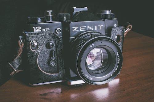 Free stock photo of analog camera, camera, camera lens