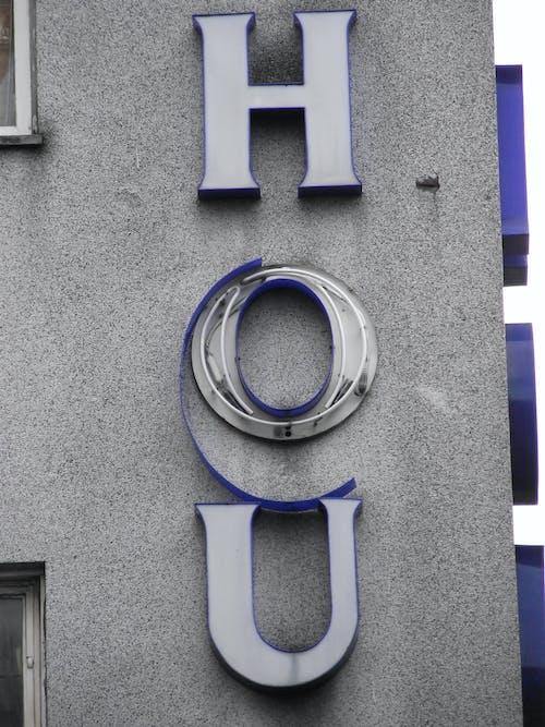Free stock photo of broken, broken sign, city life