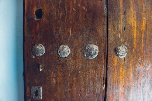 Free stock photo of blog, brown, door, post