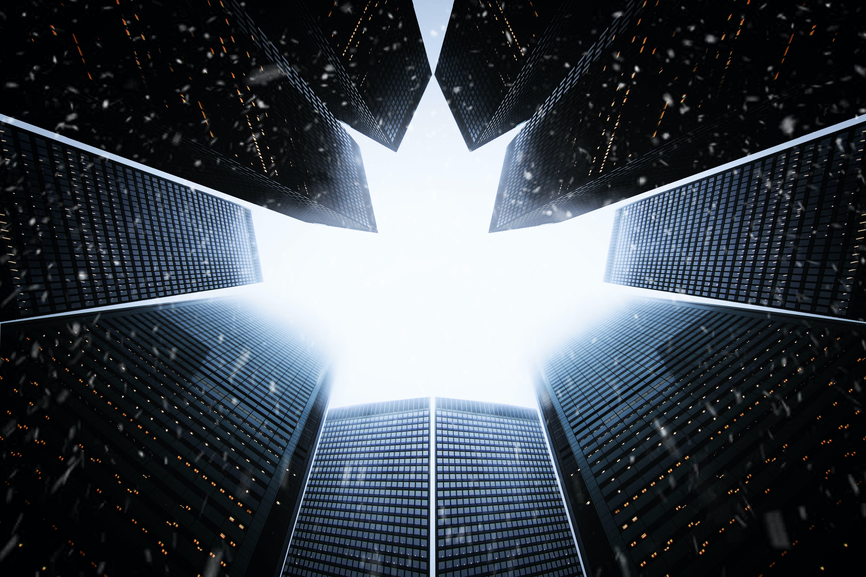 Kostenloses Stock Foto zu architektur, aufnahme von unten, design, dunkel