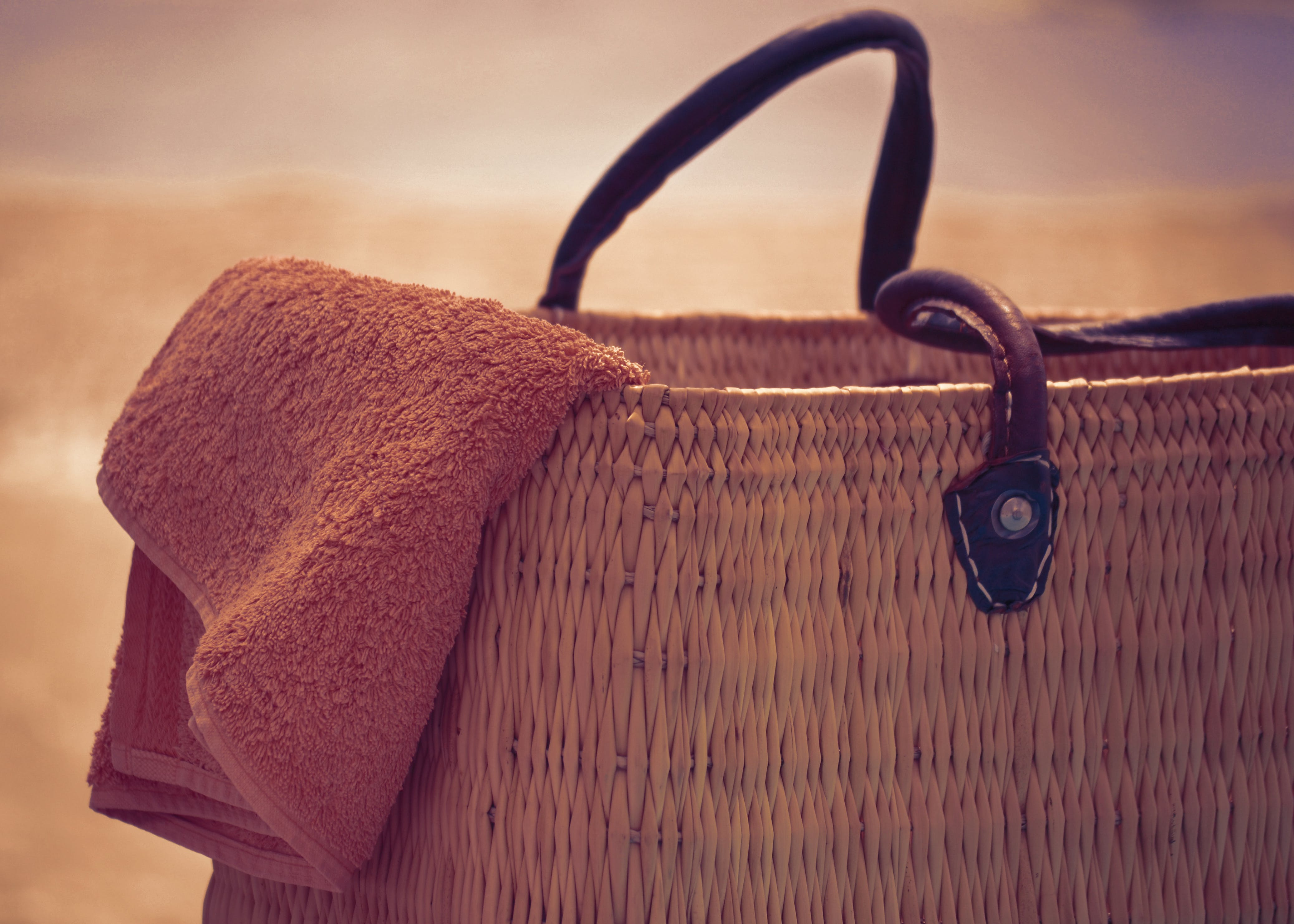 Close-up Photography of Brown Wicker Basket