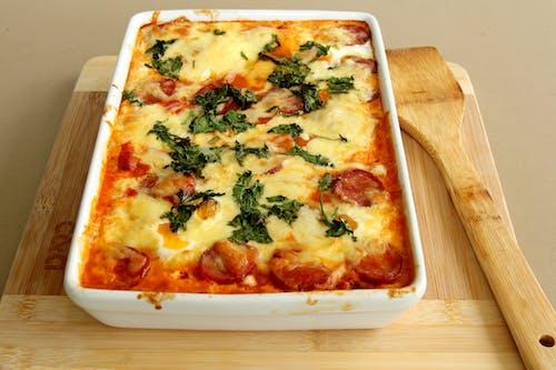 Imagine de stoc gratuită din brânză, brânzos, carne, cină