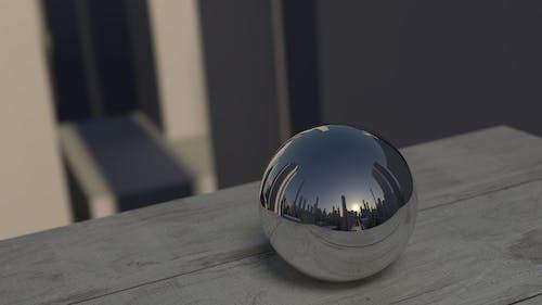 Kostenloses Stock Foto zu ball, glänzend, hölzern, metall