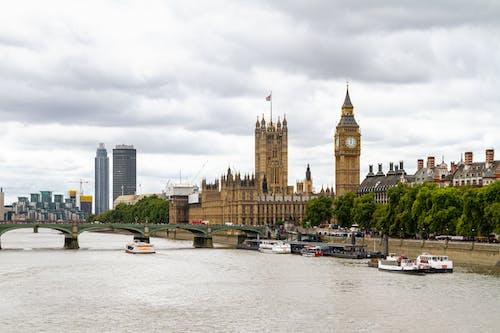 açık hava, ağaçlar, Avrupa, Big Ben içeren Ücretsiz stok fotoğraf