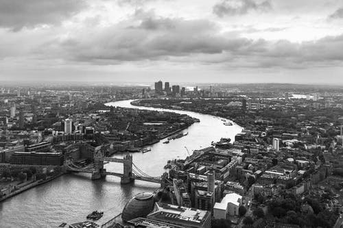 Foto stok gratis air, Arsitektur, Britania, cityscape
